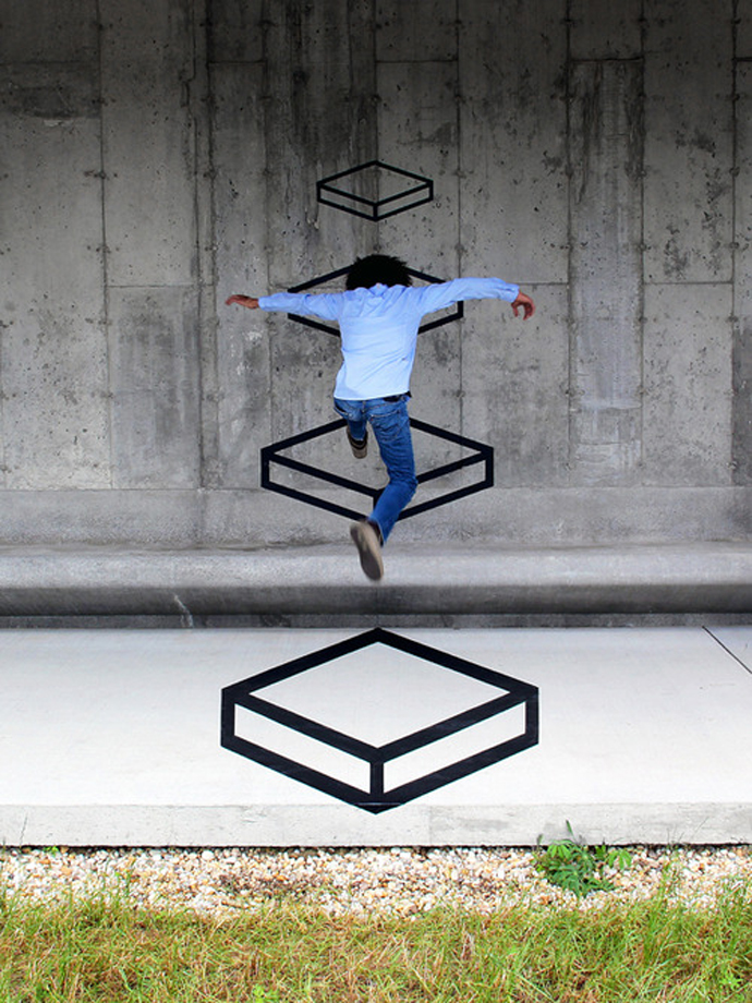 """""""Platforms"""" by Aakash Nihalani"""