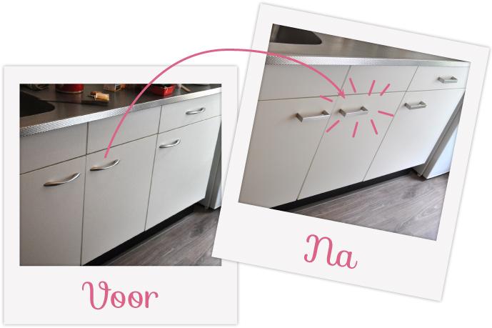 Keuken Make Over : Diy donderdag u mini keuken make over team confetti