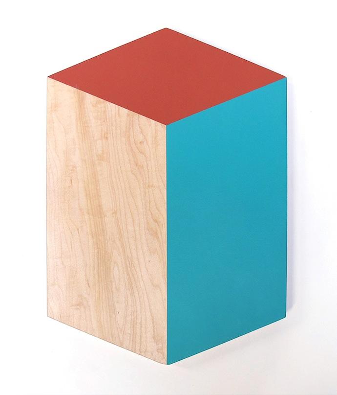 bower cutting board cube colour