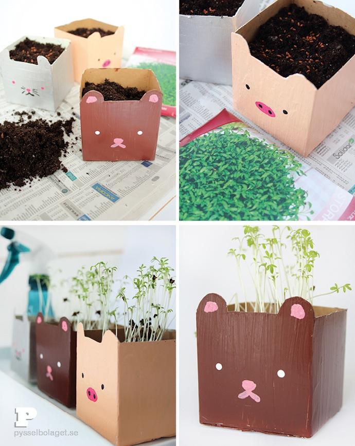 diy-Milk-carton-planters