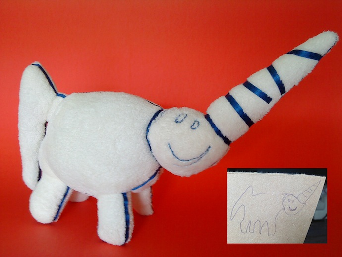 doodle_your_toys stuffed_toy_Unicorn Plush Toy