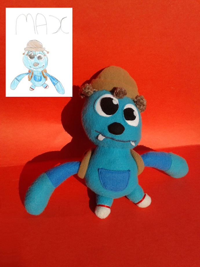 doodle_your_toys stuffed_toy_max