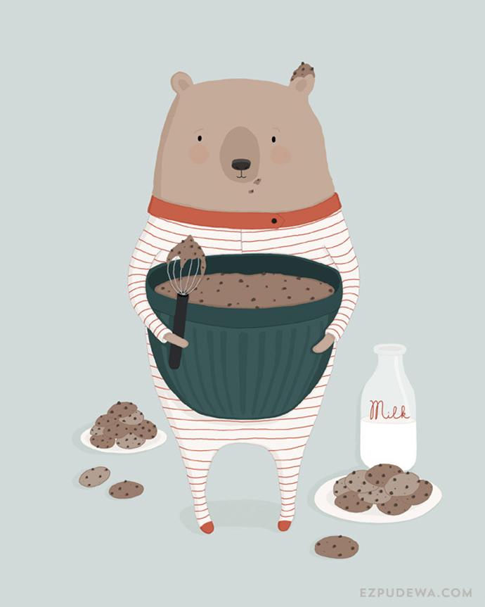 ezpudewa_print_bear_illustration