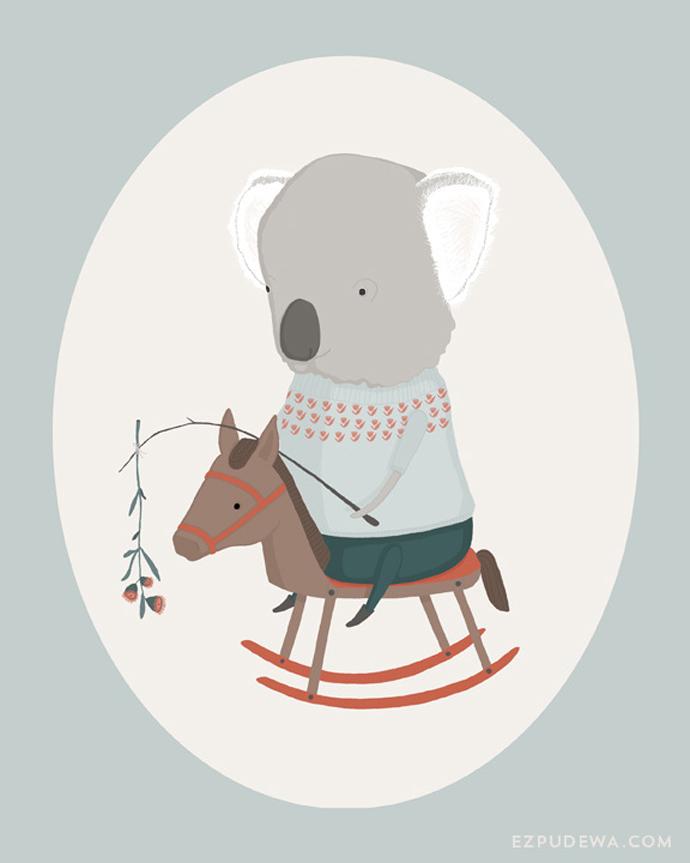 ezpudewa_print_koala_illustration