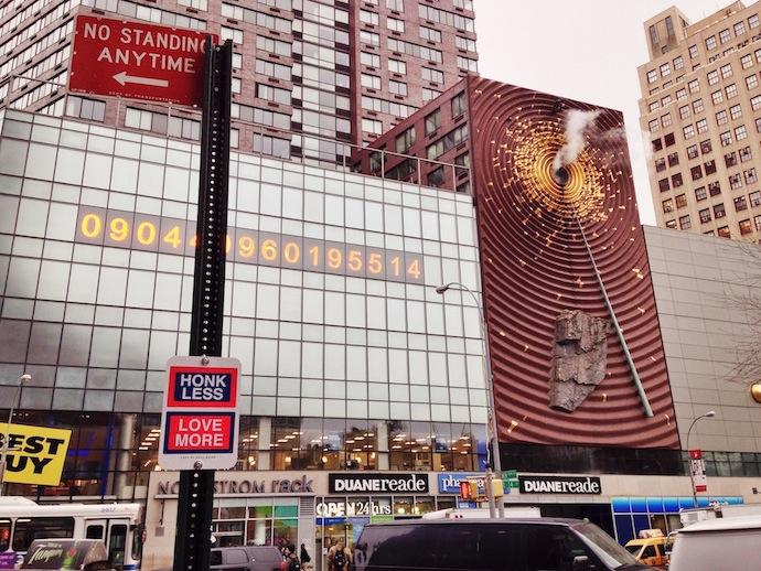 killy kilford street signs new york honk less love more