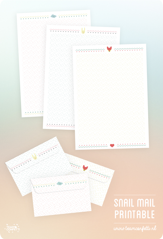 snailmail free download briefpapier alles stationary