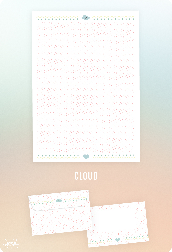 snailmail free download briefpapier cloud stationary
