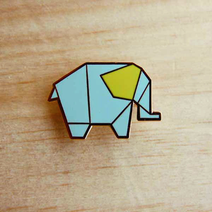 origami_pins_elephant