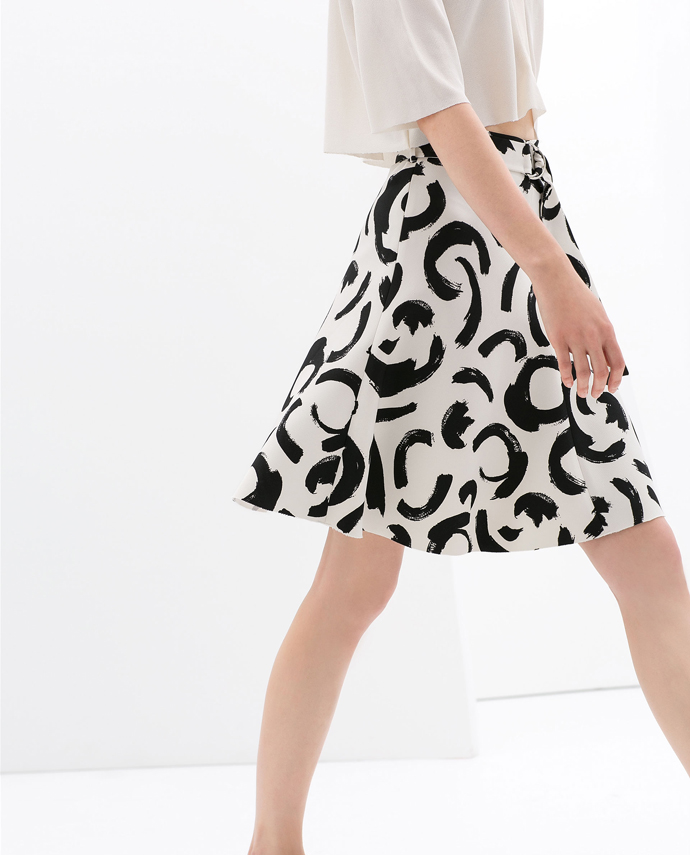 printed-skirt-with-buckle