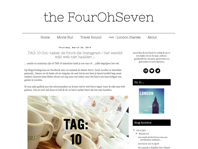 the four oh seven