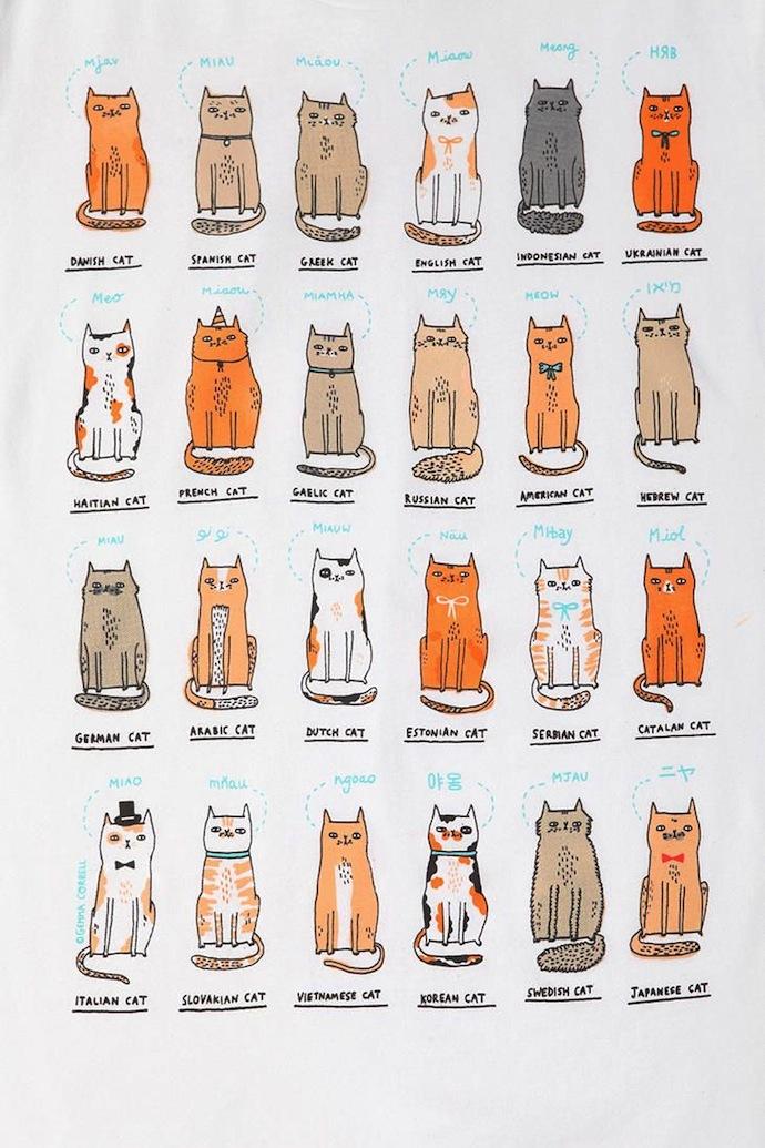 cats of the world gemma correll