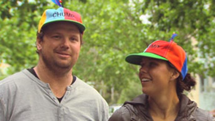 De Chump Hats, elke week weer een ander grappig hoedje!
