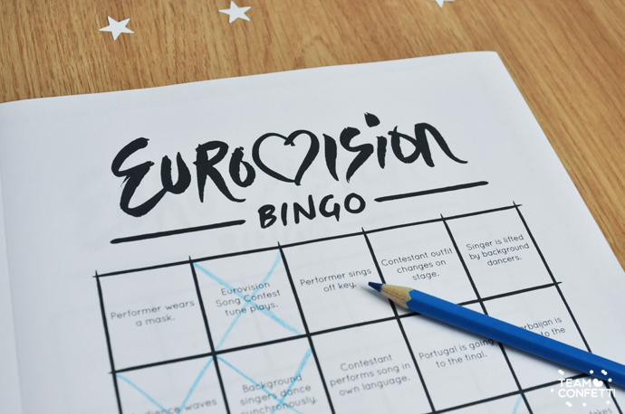 eurovision song contest bingo3