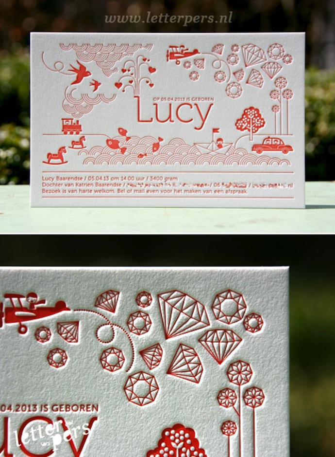 letterpers_letterpress_Lucy_geboortekaartje_illustraties