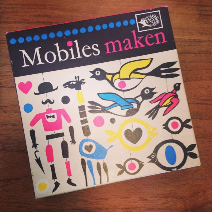 mobiles maken rommelmarkt