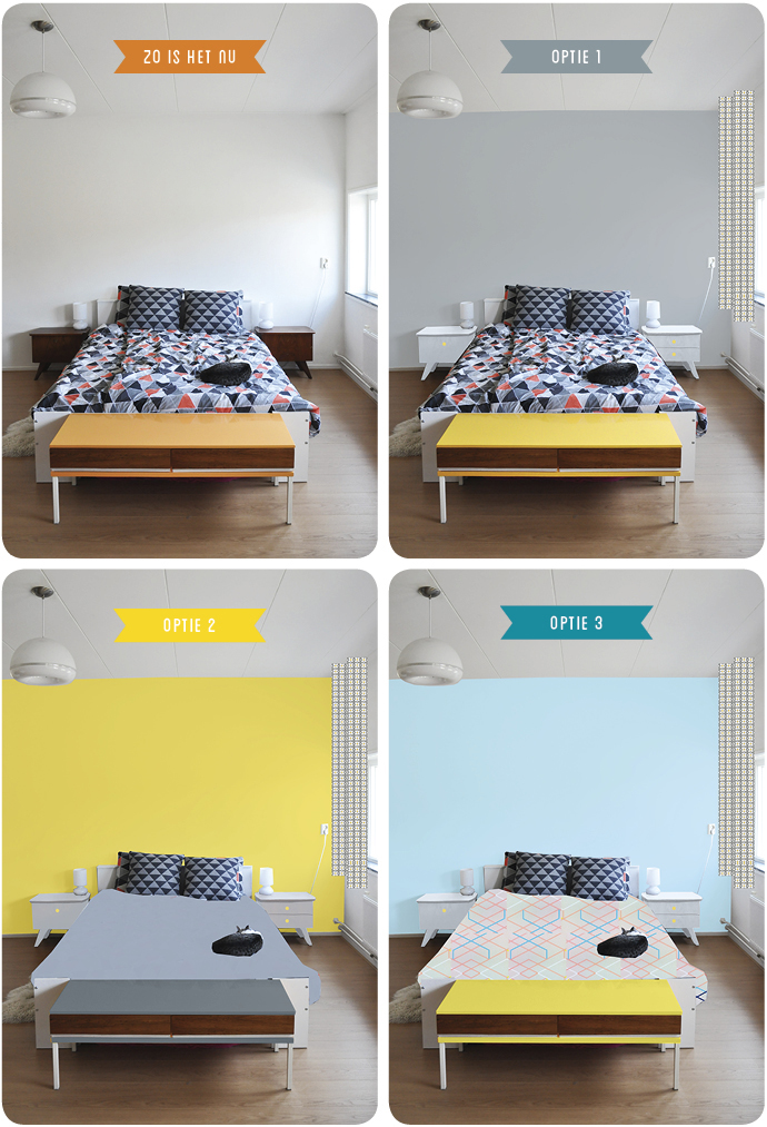 Mini bedroom makeover  Team Confetti