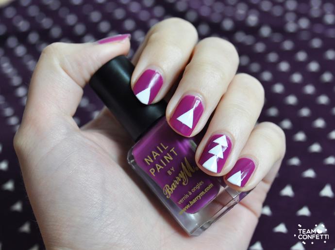 barry m purple triangle