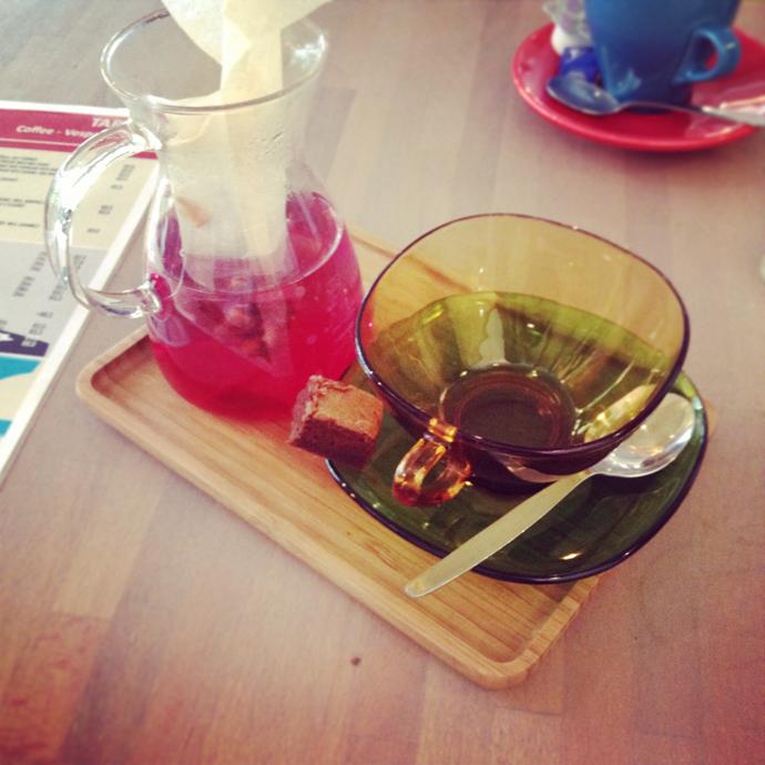 marsepijn thee bij tartoer