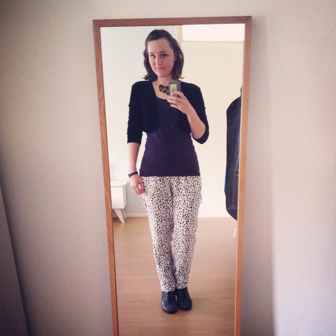 outfit zara broek