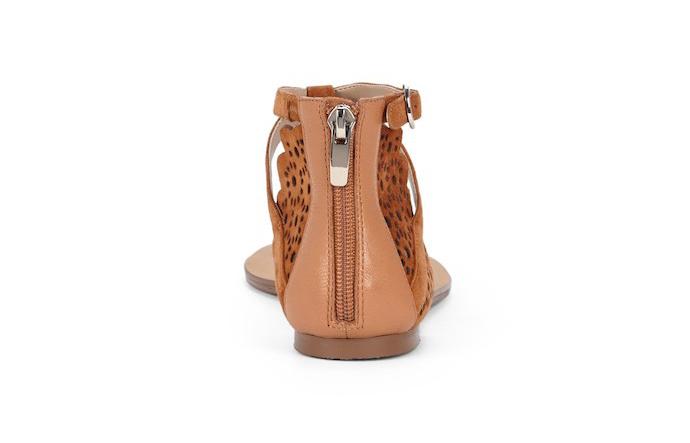 teresa laser cut t-strap sandals 4
