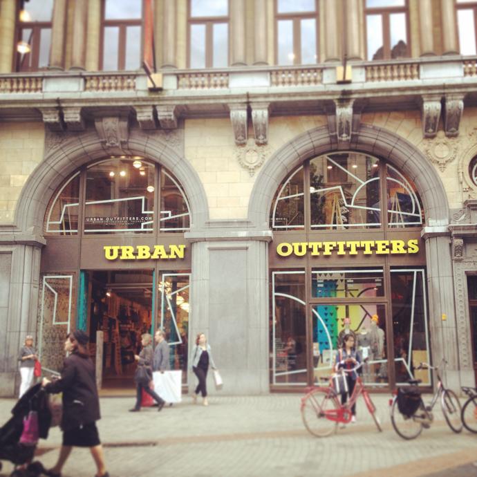 urban outfitters antwerpen