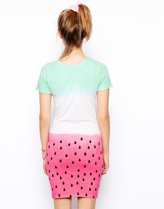 watermellon dress by asos 2