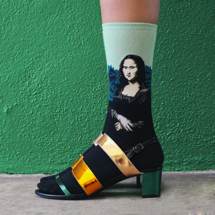 art-socks-Mona-Lisa
