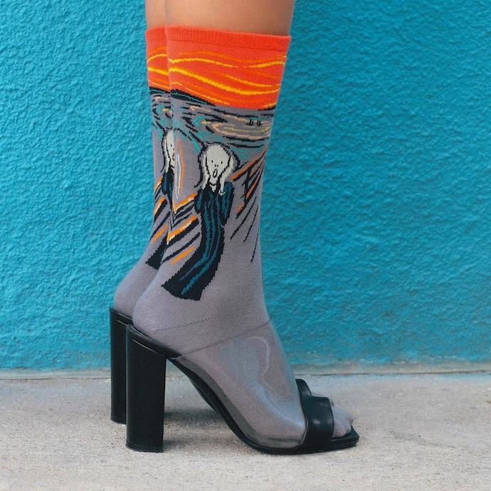 art-socks-The-Scream