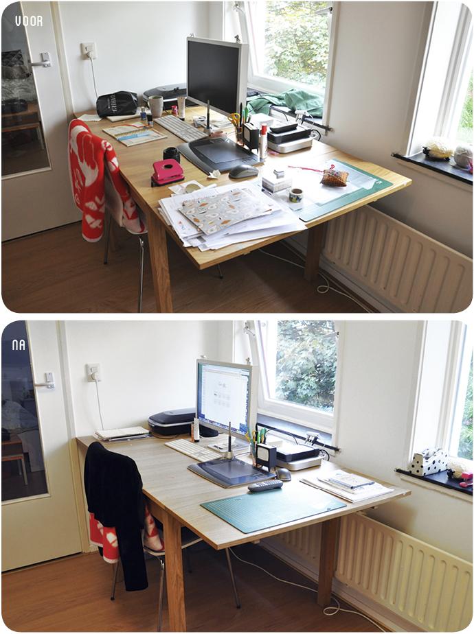 declutter werkkamer 4