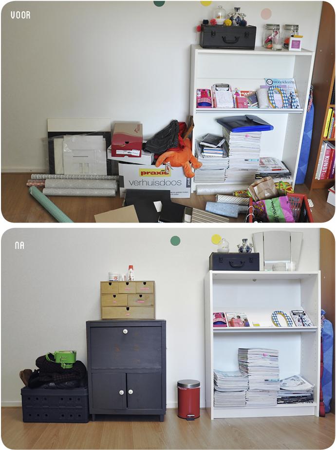 declutter werkkamer 6