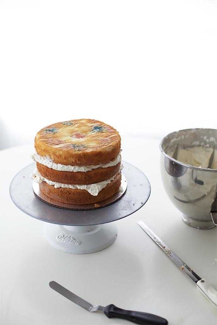 polka dot cake 2