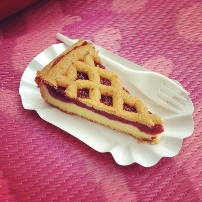 cranberry taart