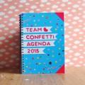 confetti agenda