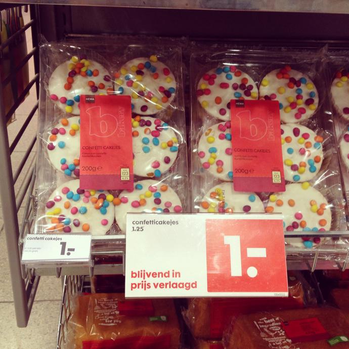 confetti koeken
