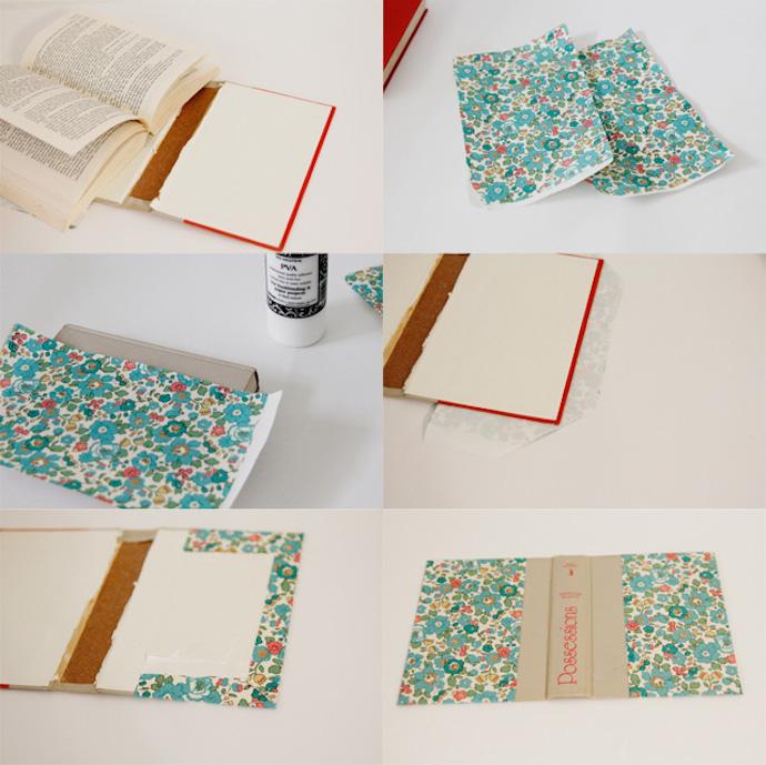 zipper book clutch 3