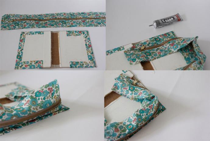 zipper book clutch 6