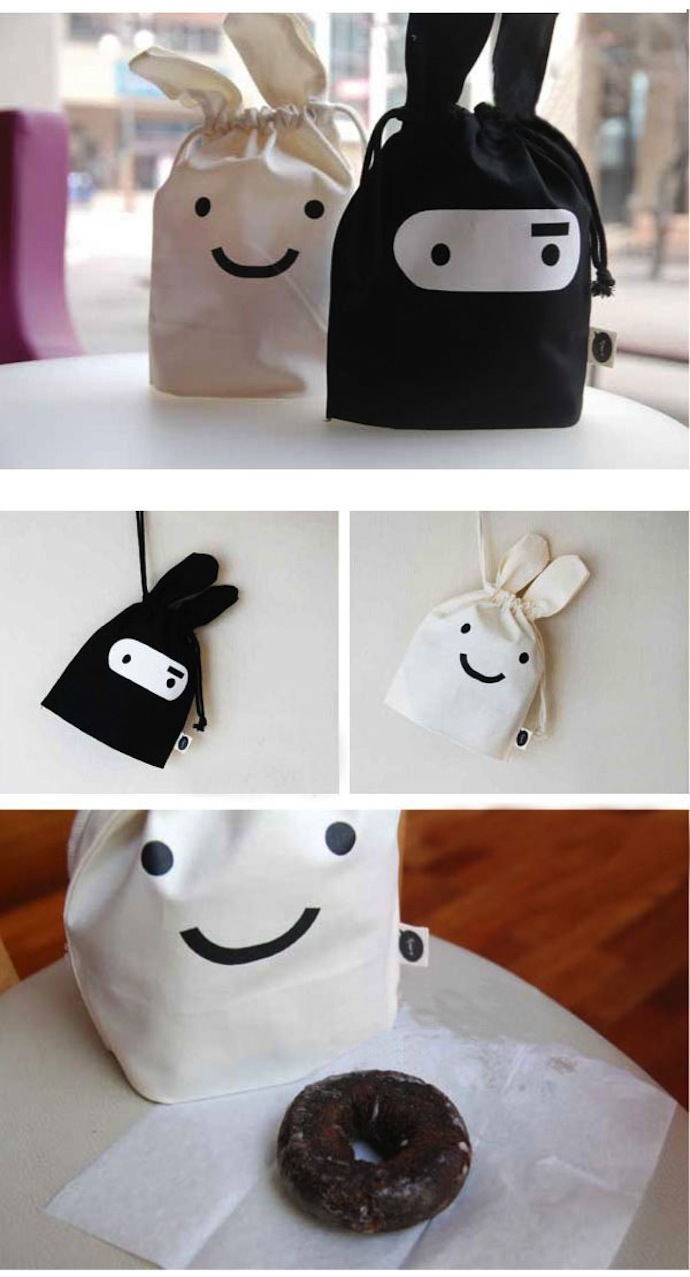Wholesale-The-cute-ninja-rabbit-Korea-Jstory-contraction-of-the-cloth-pouch-pocket-mini-bags-of