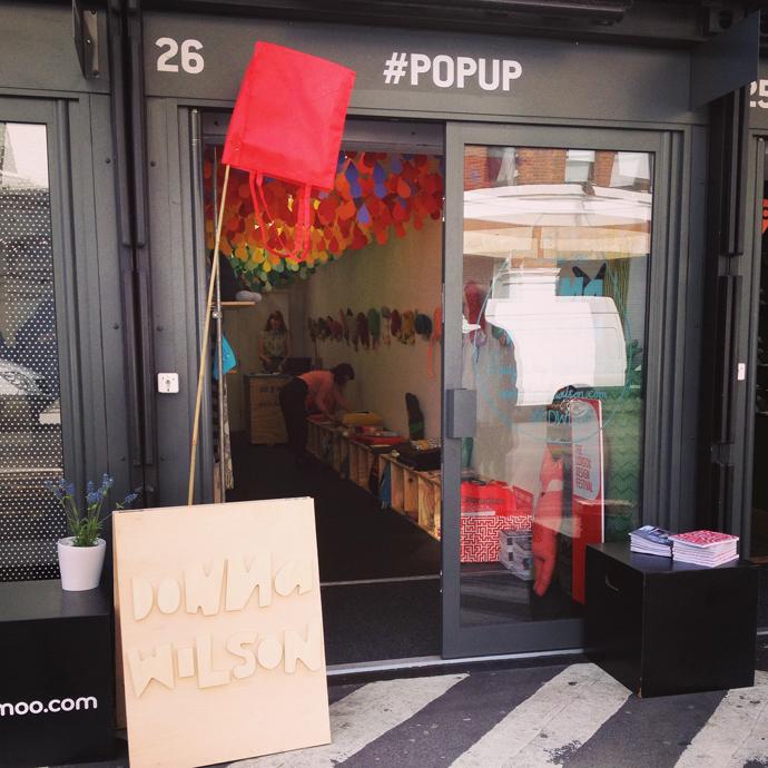 donna wilson pop-up shop