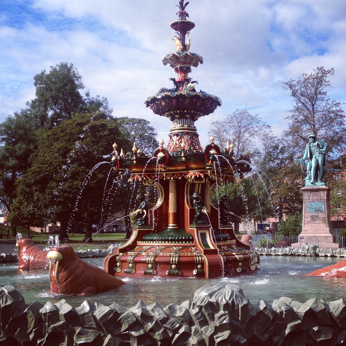 fontein glasgow