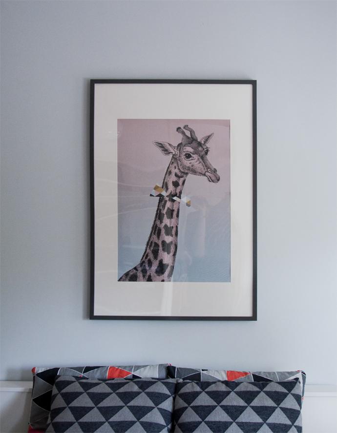 giraffe poster ava&yves