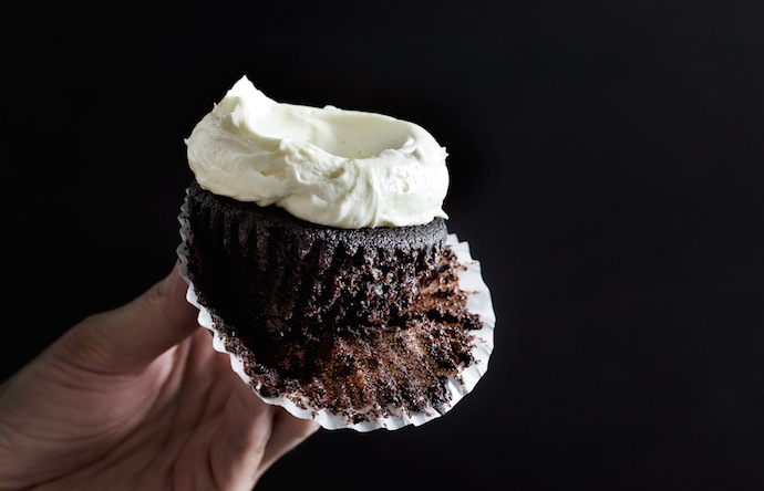 triple chocolate cupcake 1