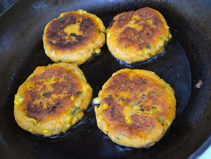 Sweet Potato Corn Cakes 7