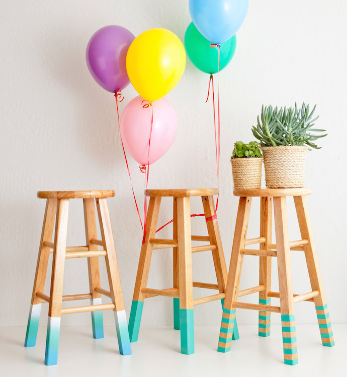 color dipped stools 1
