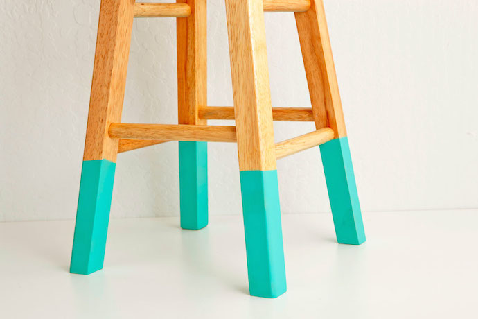 color dipped stools 2