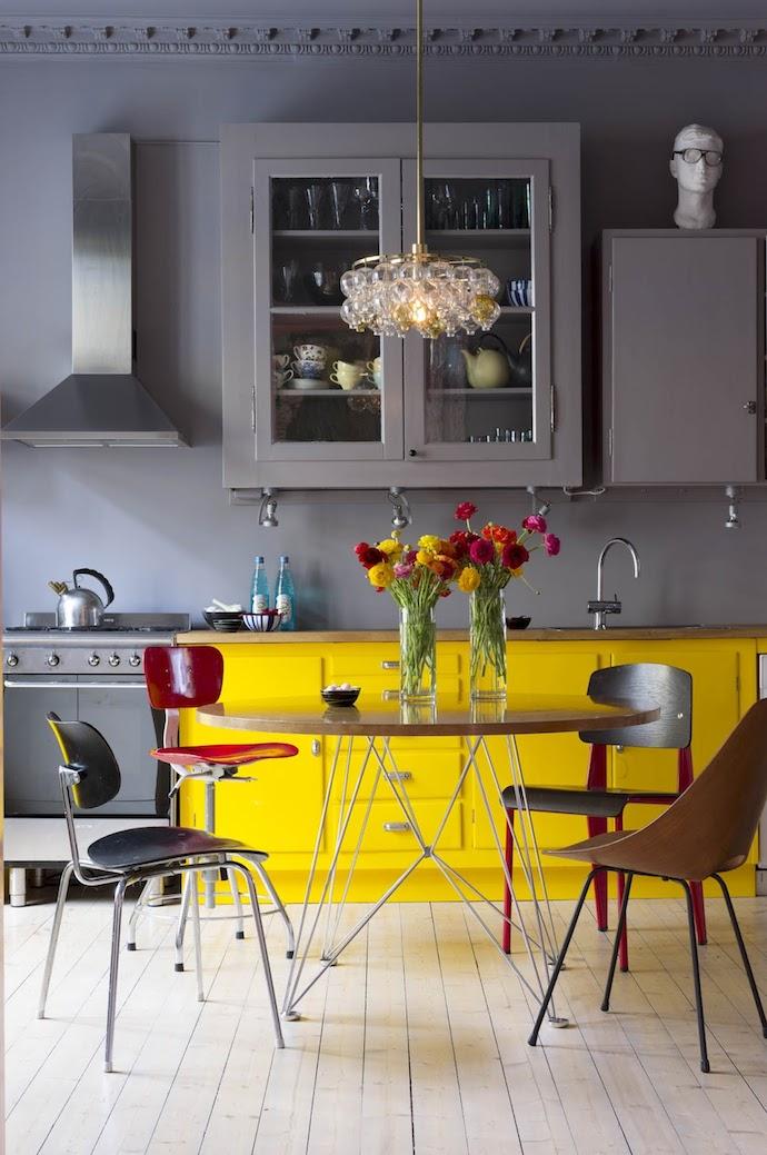 Keuken keuken geel verven beelden : Interieurliefde: gele accenten in de keuken! | Team Confetti