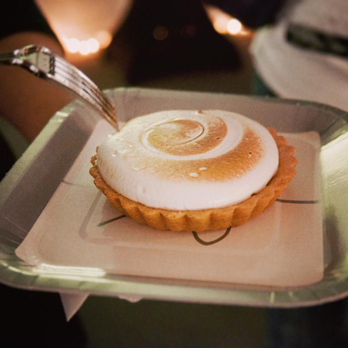 merengue taart