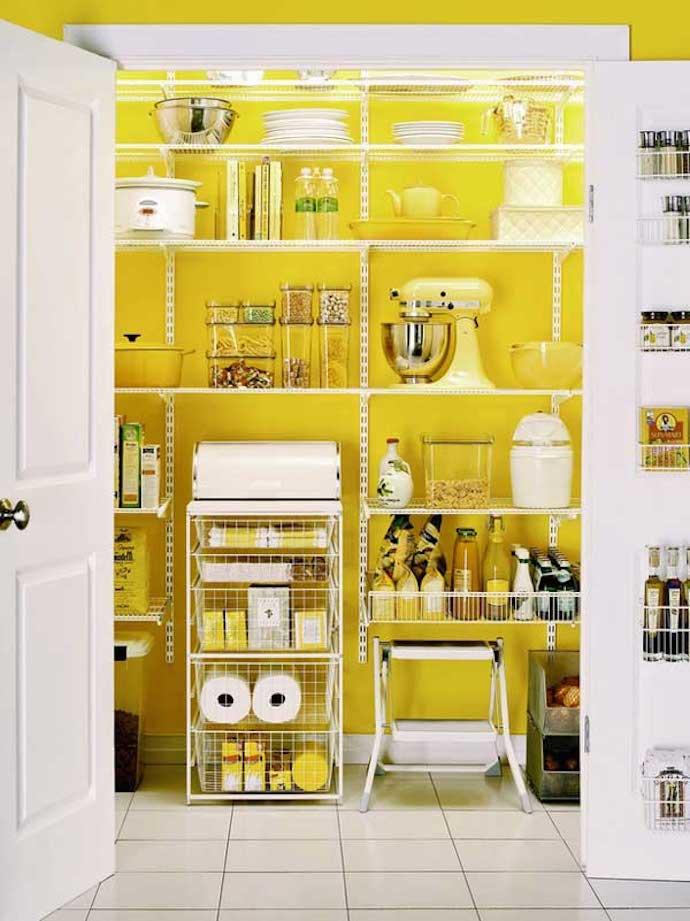 Voorraadkast Voor Keuken : Interieurliefde: gele accenten in de keuken! Team Confetti