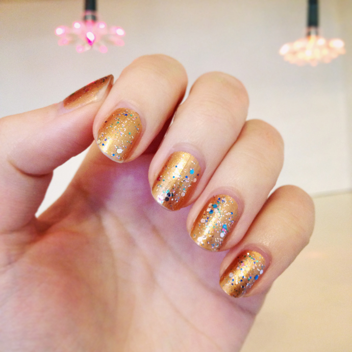 nagellak glitter