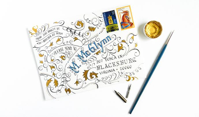 typography envelope 1