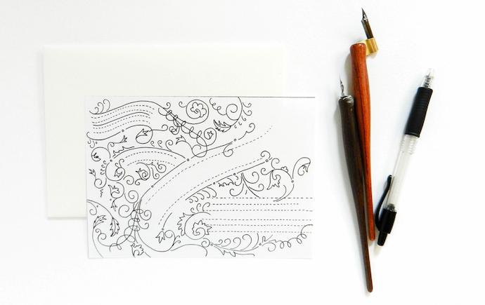 typography envelope 3